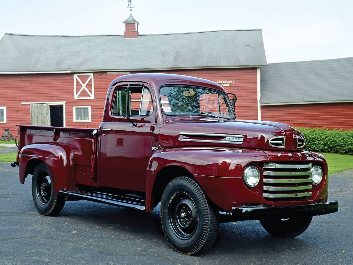 1948 1 ton pick up farm truck 9 5 ft beds