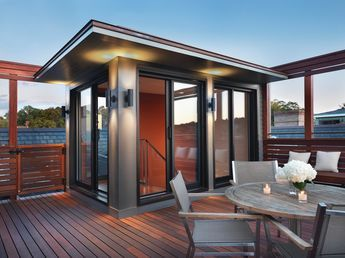 Best Porch Rooftop Mahogany Deck Exterior Addition Project 640 x 480