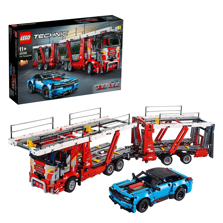 LEGO Technic Car Transporter 42098 Building Kit, New 2019