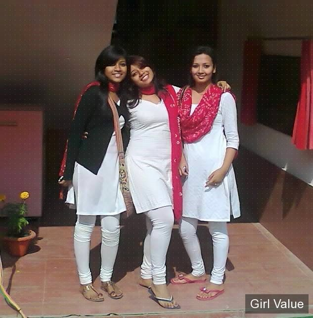 indian girls in white salwar kameez shalwar