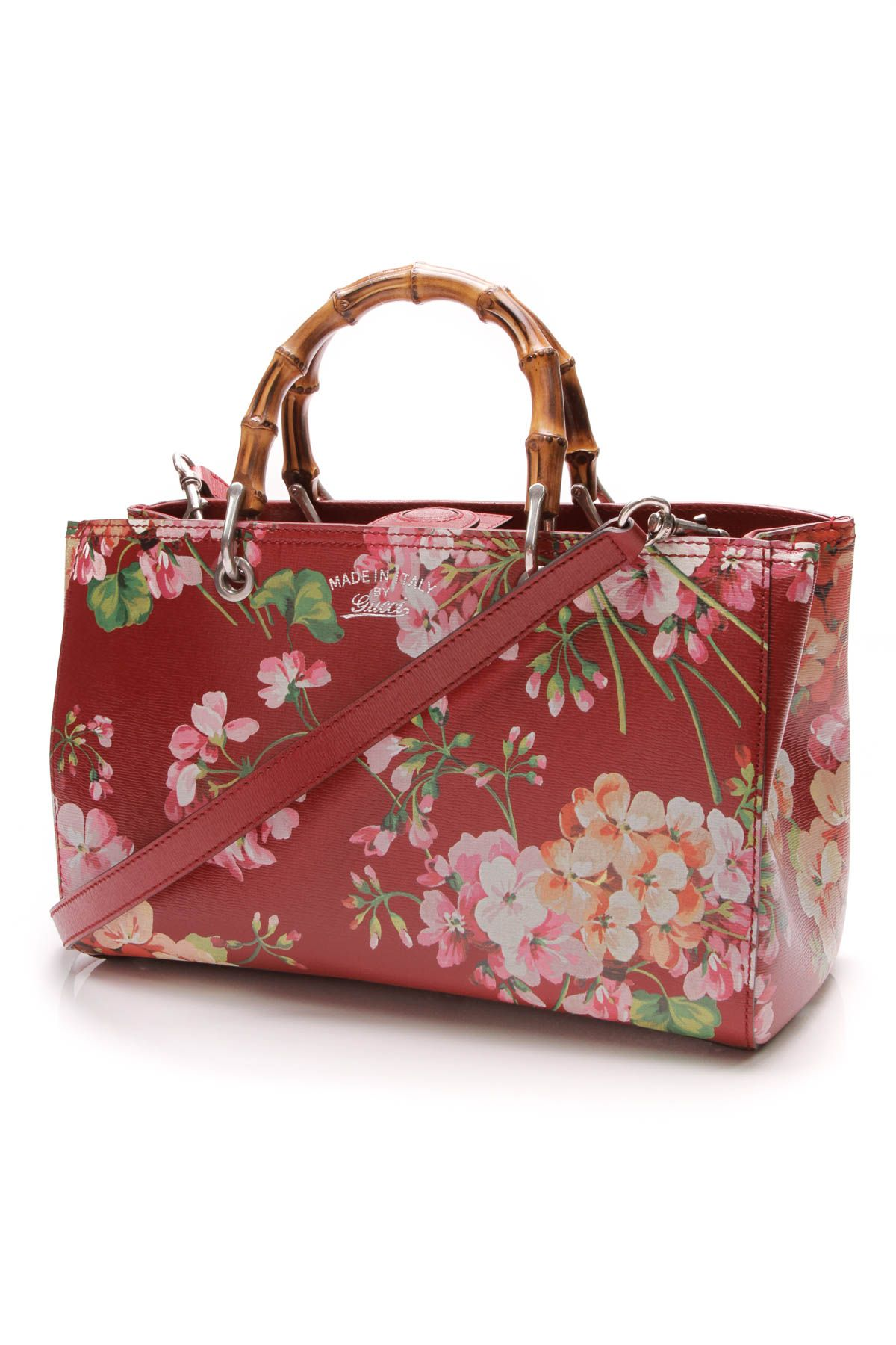 190ee9e3badc4a Ready for spring? This Gucci red blooms tote is a must have ...