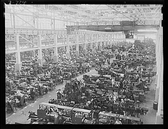 Interior Of Tool And Die Building Ford Motor Company