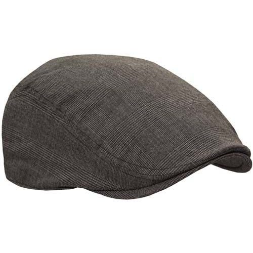 9d3fc20a Amazon.com: Classic Ivy Driver Flat Cap Hat, Grey Small/Medium: Clothing