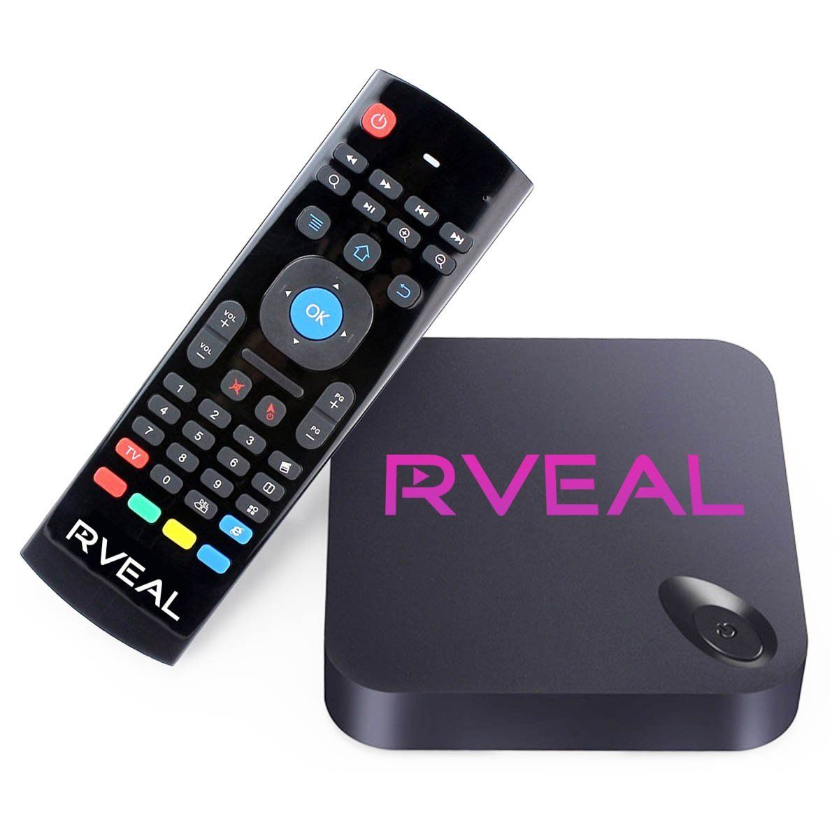 Amazon Com Rveal Streaming Media Player Android Smart Tv Box
