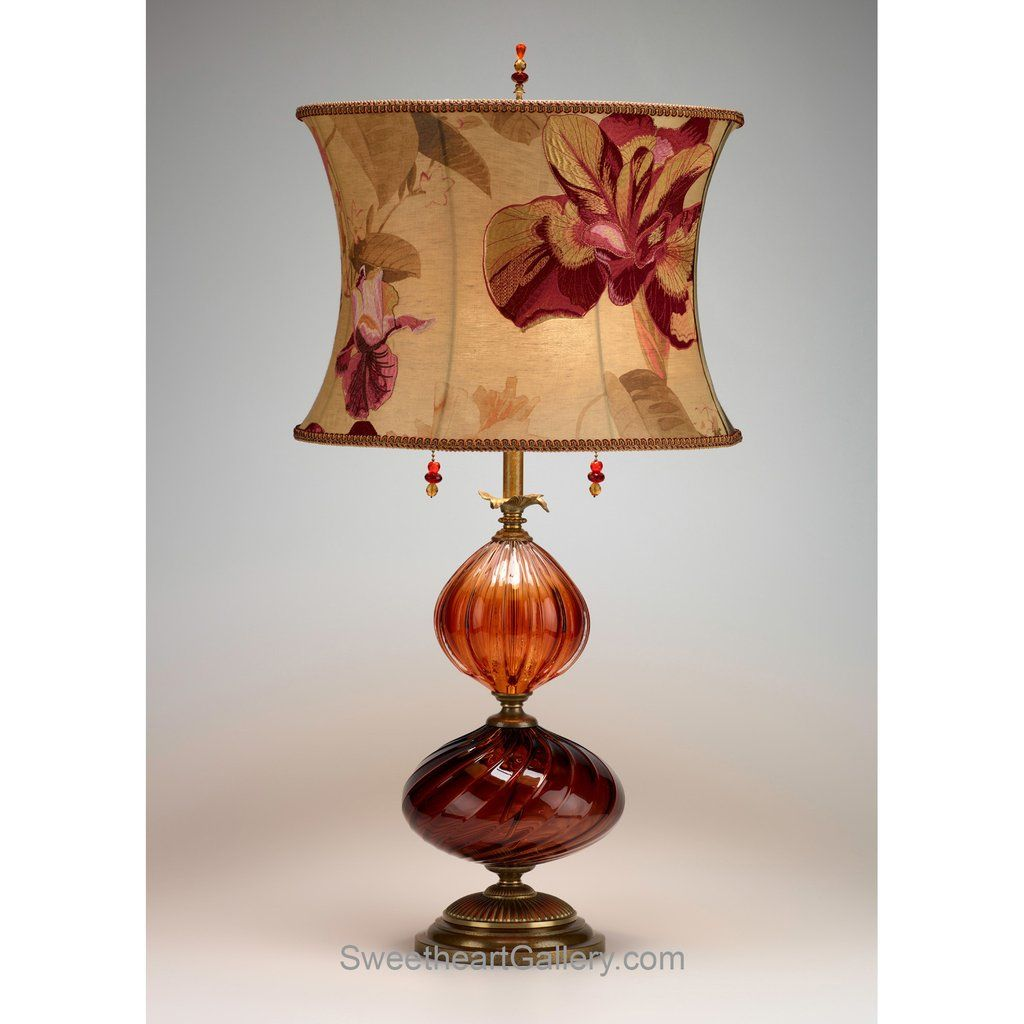 Mariola table lamp kinzig design burgundy salmon blown glass mariola table lamp by kinzig design colors burgundy salmon blown glass artistic artisan designer table lamps geotapseo Image collections