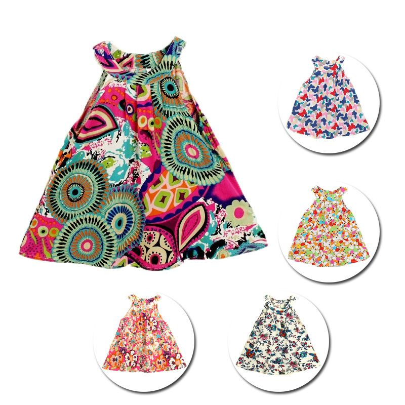 Patrones vestidos de verano ninas
