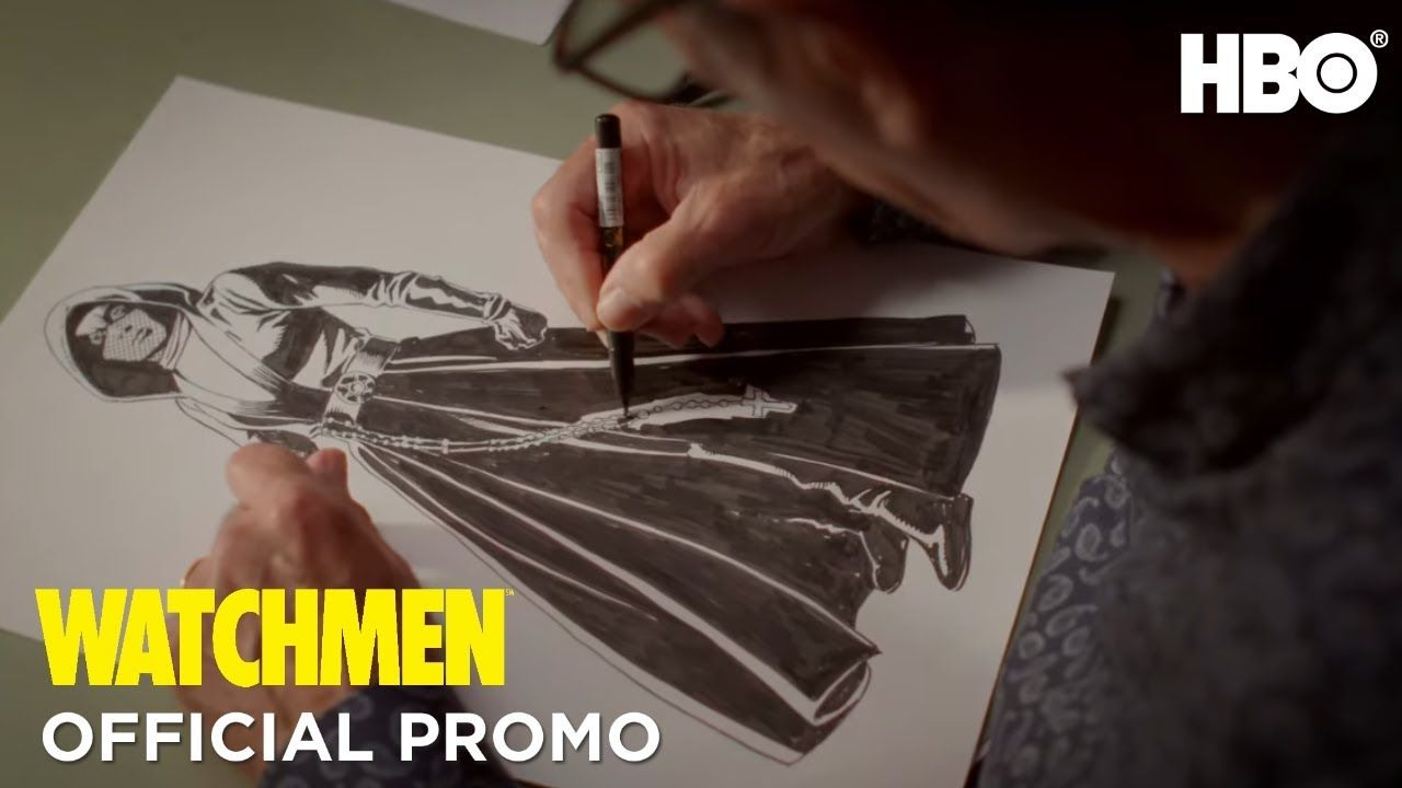 Watchmen Dave Gibbons Illustration Promo Hbo