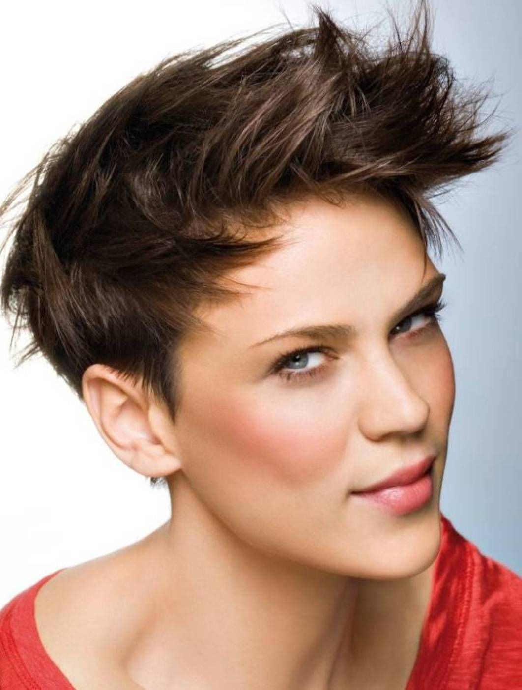 Spiky Extra Short Haircuts For Women Spiky Extra Short Haircuts