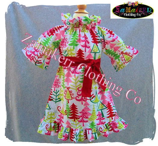 6c7d84ceca4 Girl Christmas Dress - Custom Boutique Clothing - Cute Christmas Peasant  Ruffle Dress 3 6 9 12 18 24 month size 2T 2 3T 3 4T 4 5T 5 6 7 8.  43.99