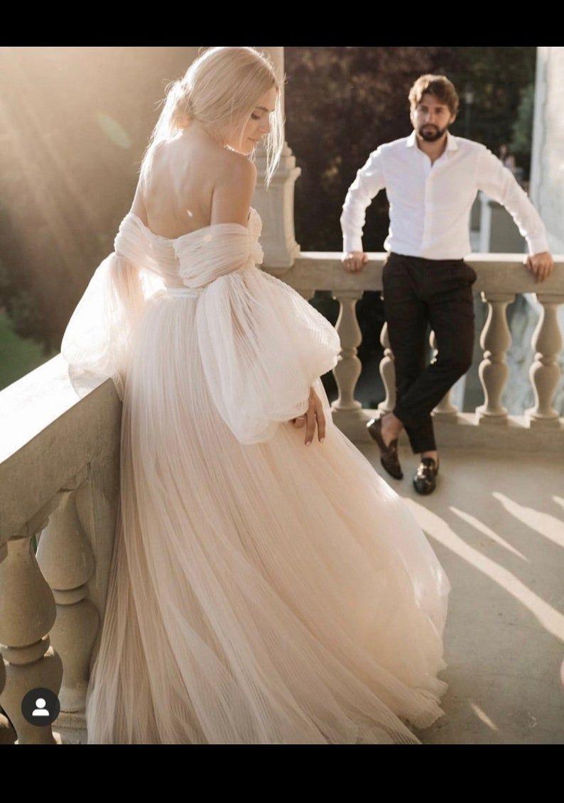 Brand New Ivory/Cream Wedding Dress UK size 20 in 20   Fairy tale ...