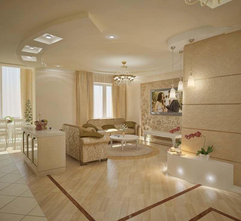 Кухня гостиная дизайн интерьера..   Интерьер, Гостиная ...