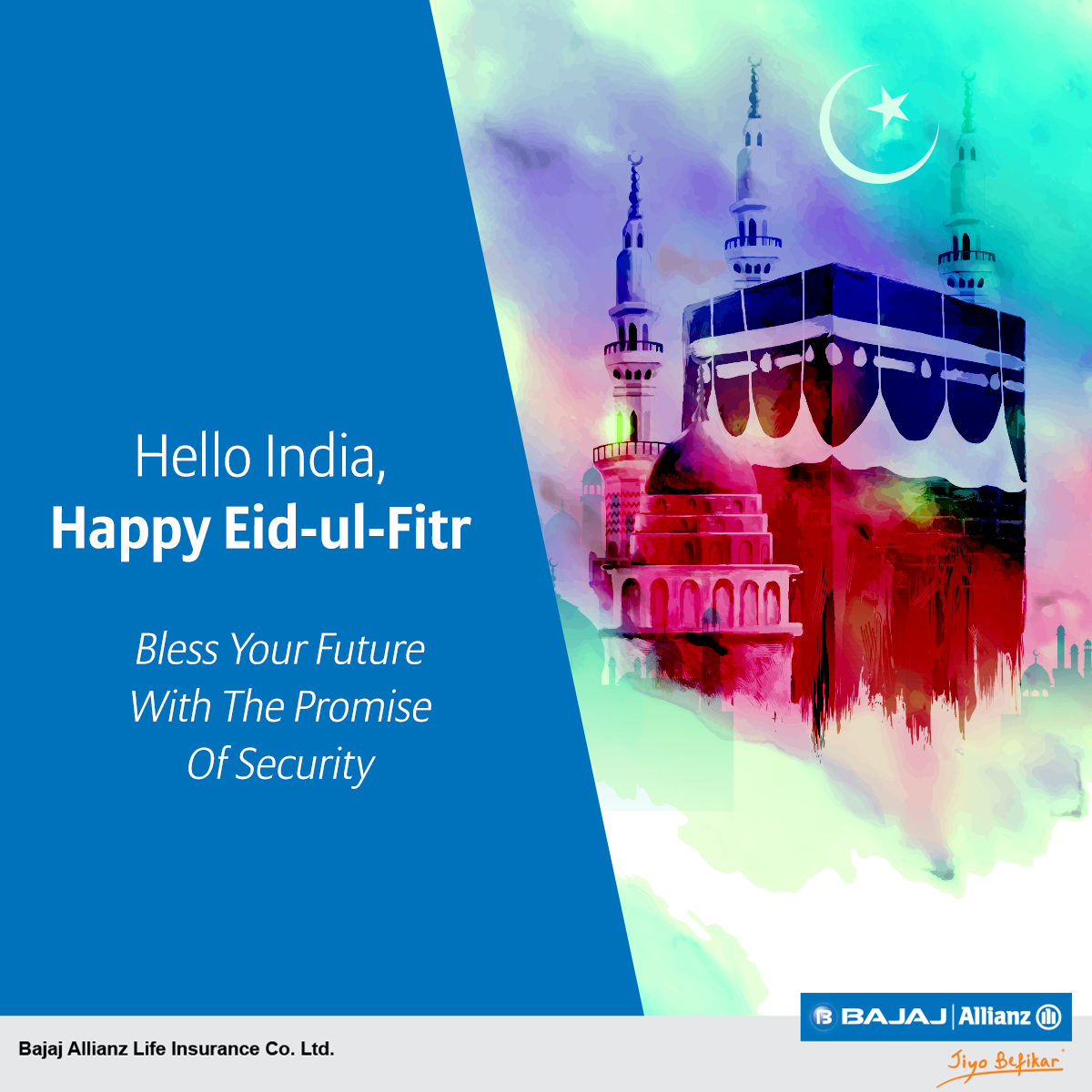 May your future be filled with joy & prosperity. Wishing