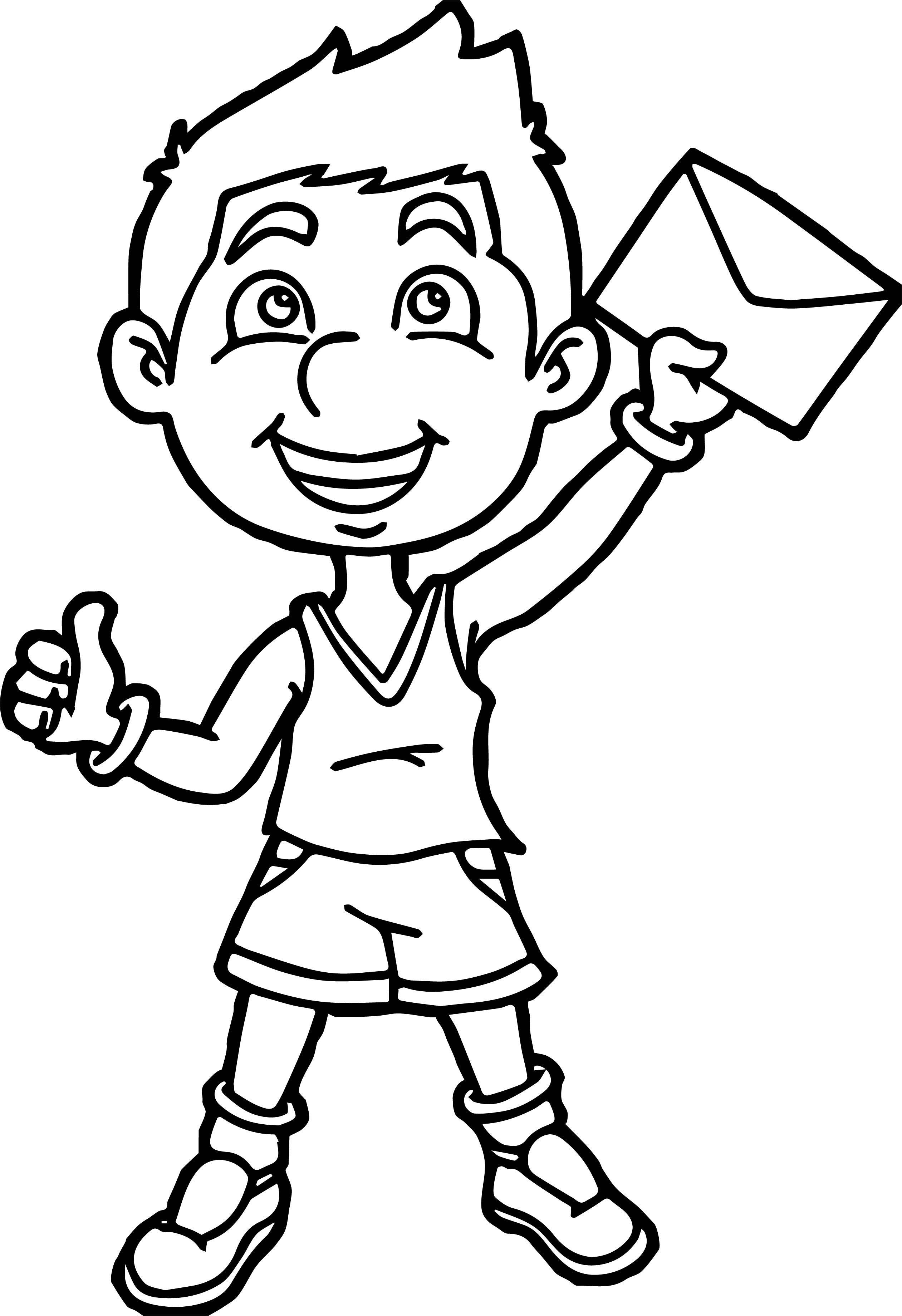 Nice Sport Boy Winner Post Coloring Page Sports Coloring Pages Santa Coloring Pages Coloring Pages [ 3680 x 2522 Pixel ]