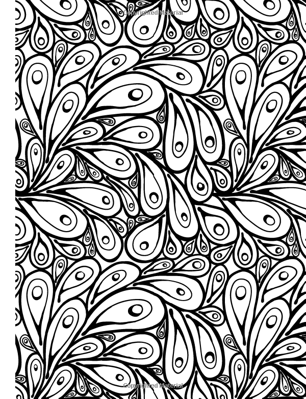 Amazon Really RELAXING Colouring Book 10 Colour Therapy