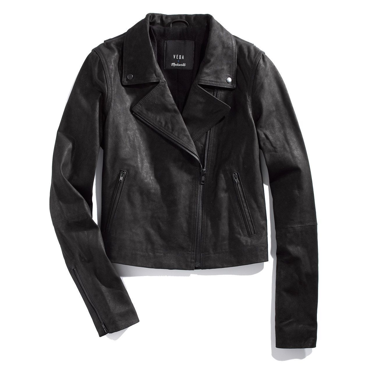 Veda¿ & Madewell Leather Motorcycle Jacket jackets