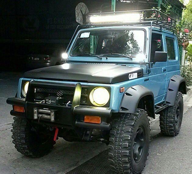 My Suzuki Samurai: ジムニー, ジムニー カスタム Y バイク