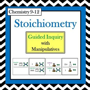 Chemistry Stoichiometry This Is A Student Centered Active Learning Lesson Without Lecture Or Notetaking Teaching Chemistry Chemistry Classroom Chemistry