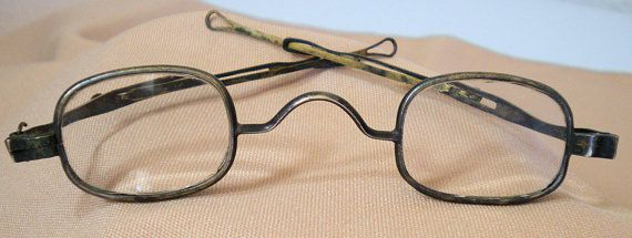 c10750f0d8 Antique vintage eyeglasses or spectacles. Circa the 1830 s through 1880 s