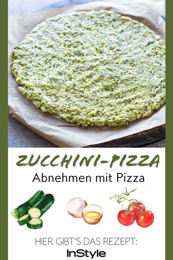 Abnehmen mit Pizza: Mit diesen 3 kalorienarmen Pizza-Rezepten kein Problem #lowcarbveggies
