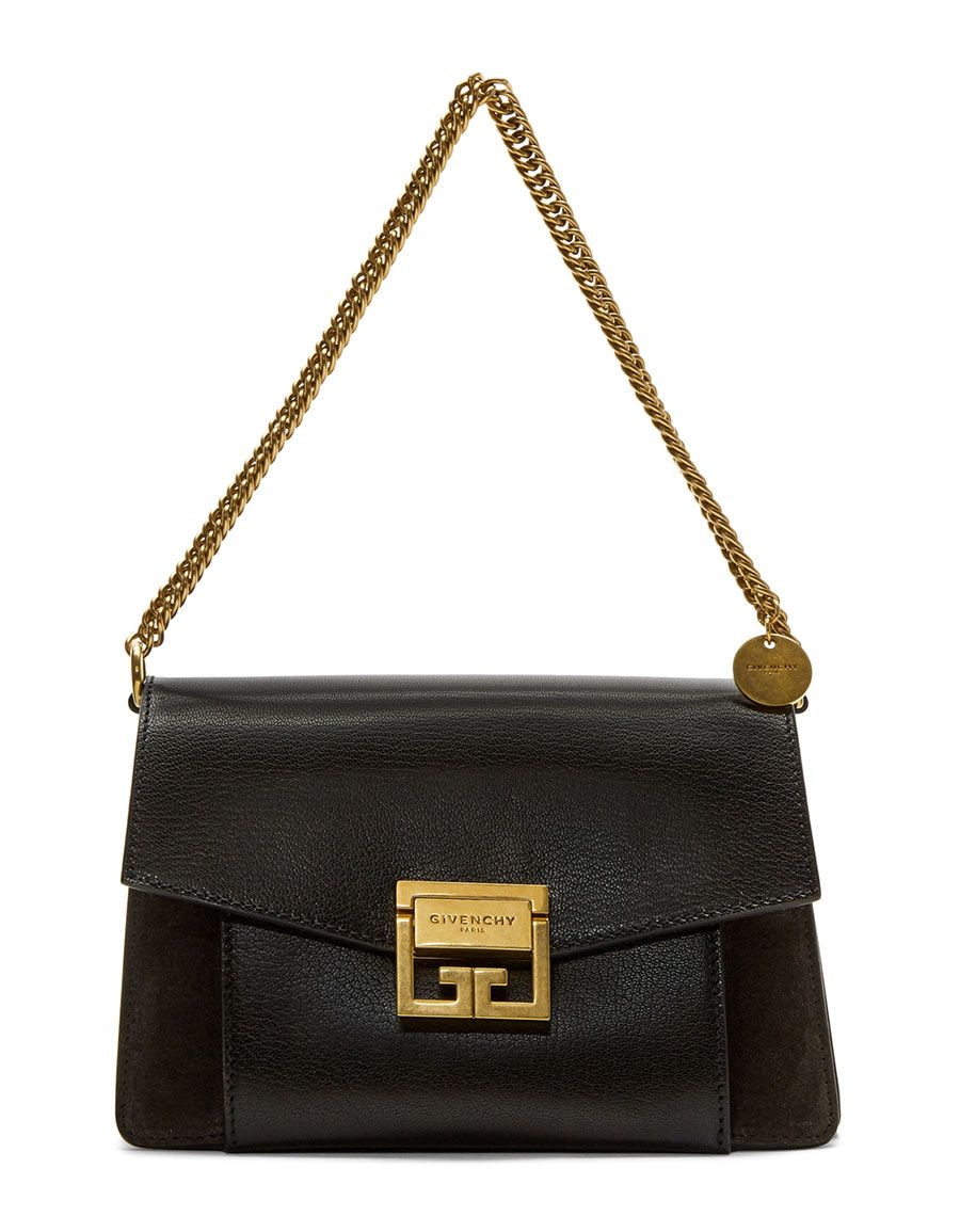 3ae2b08575c GIVENCHY Black  amp  Grey Small GV3 Bag Black And Grey