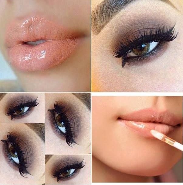 This makeup look can be worn to all sorts of functions and parties!!!