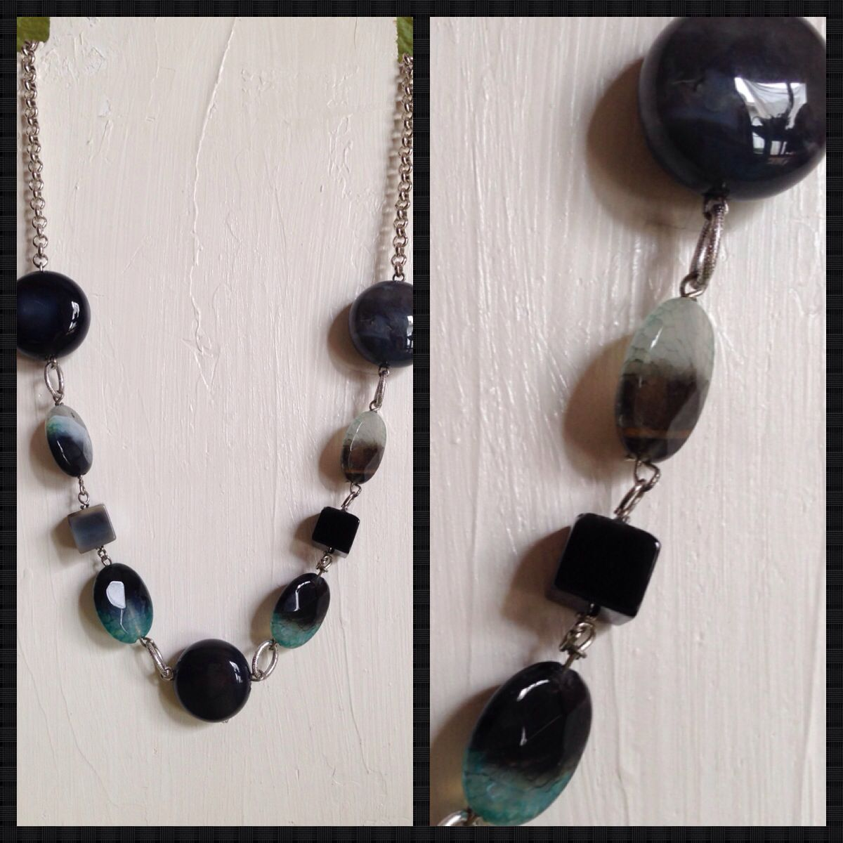 Agathe necklace  Handmade jewellery