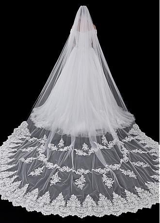 Buy Lace And Long Cheap Wedding Veils For Sale Adasbridal Com Wedding Veils Short Wedding Veil Accessories Tulle Wedding Veil