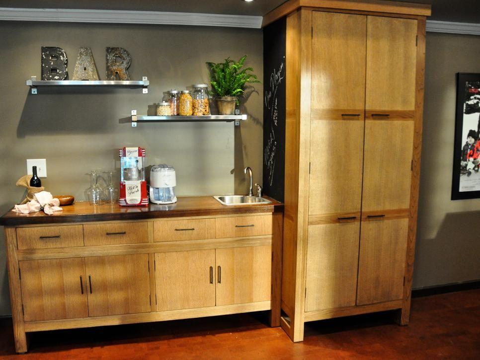 Home Bar Ideas 89 Design Options Bonus rooms, Basements and Hgtv