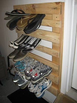 DIY Pallet Wood Shoe Rack...super easy and so functional!, also wanted to show you a new amazing weight loss product sponsored by Pinterest! It worked for me and I didnt even change my diet! I lost like 16 pounds. Check out image