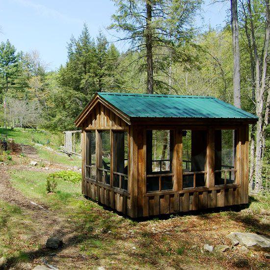 Enclosed Garden Structures: Pergolas, Pavilions, Sheds