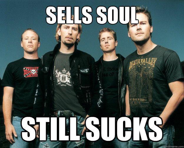 Image result for Nickelback sucks gif