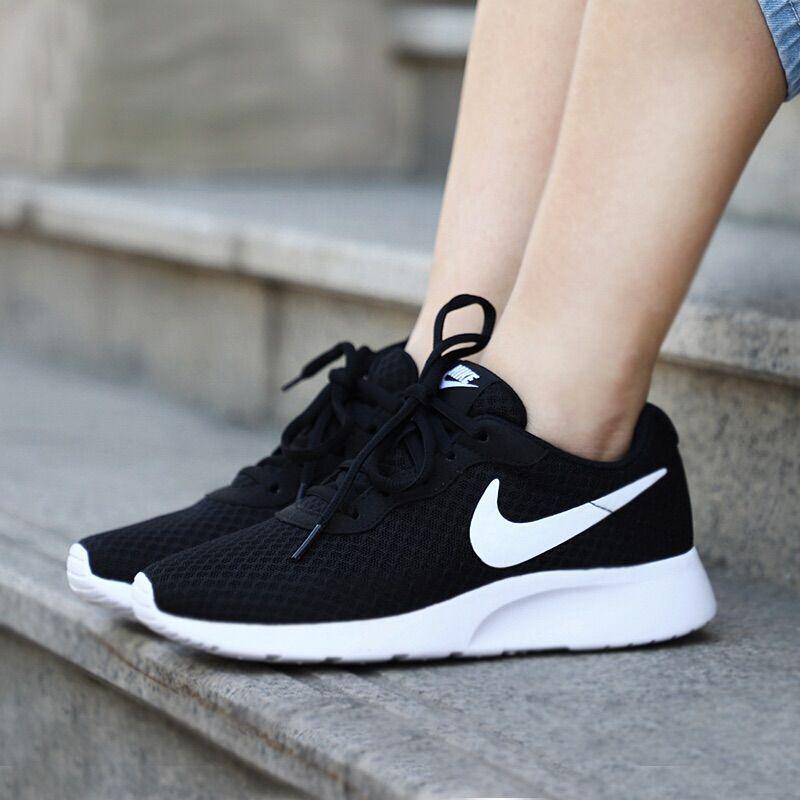 Womenshoeflats In 2020 Black Nike Shoes White Nike Shoes Tennis Shoes Outfit