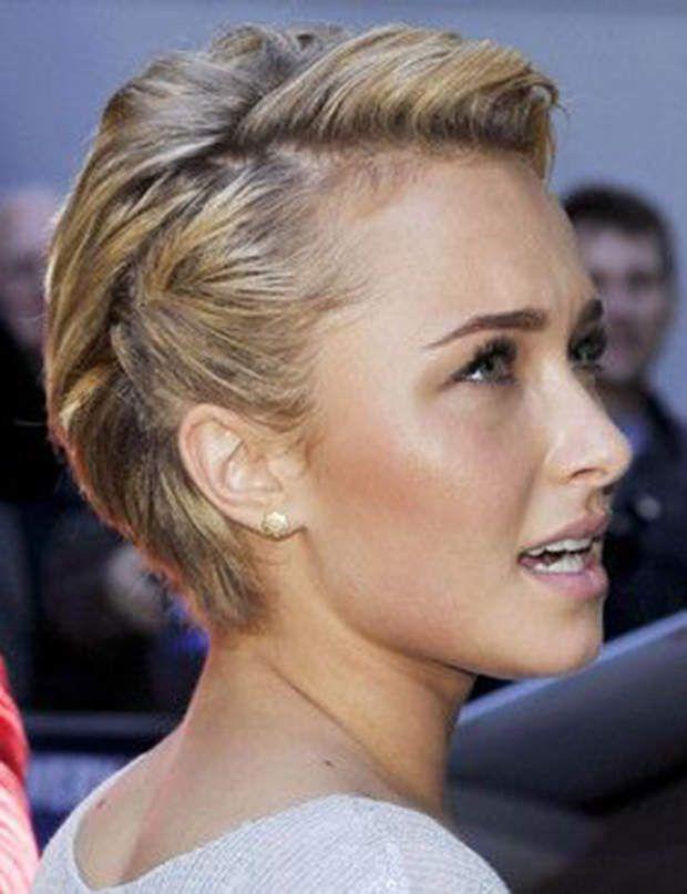 15 coiffures stylées pour cheveux courts Attacher
