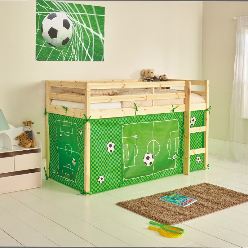 Football Tent For Shorty Mid Sleeper Bed Frame Design For Kids