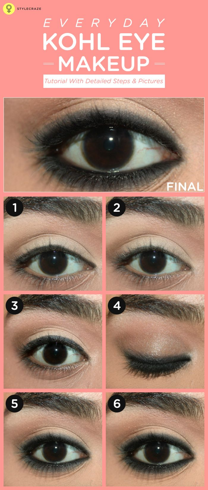 How To Apply Kajal On Eyes Perfectly? - Step by Step Tutorial