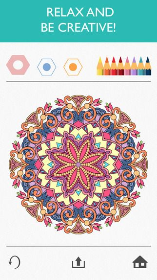Colorfy Coloring Book For Adults Free On The App Store Libros Para Colorear Adultos Imagenes Para Colorear Para Adultos Mandalas Para Colorear
