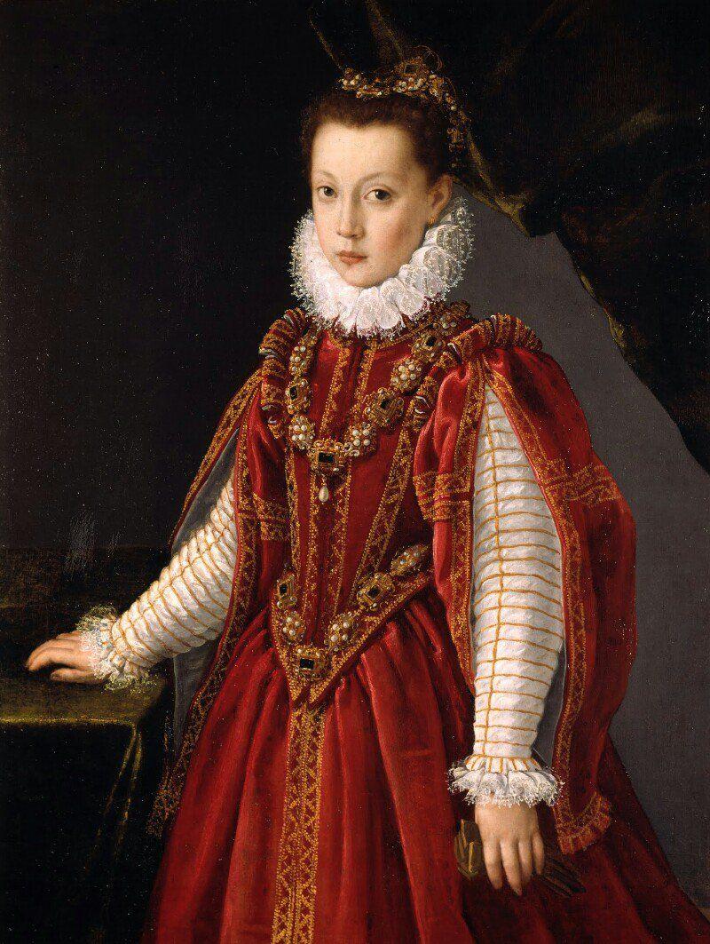 Renaissance young girl portrait final, sorry