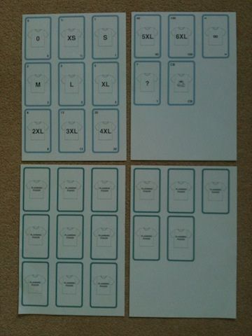 planning poker template printed | Scrum | Pinterest | Planning poker ...