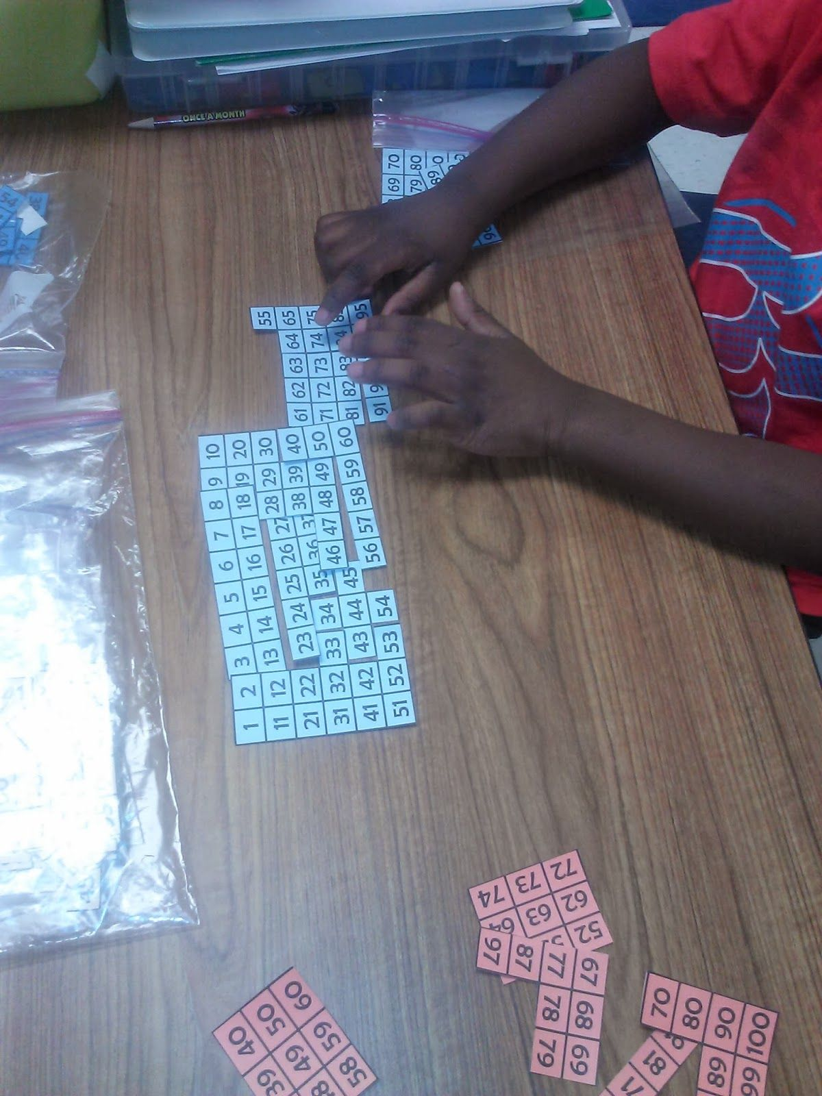 Exploring Number Patterns Using Hundred Charts