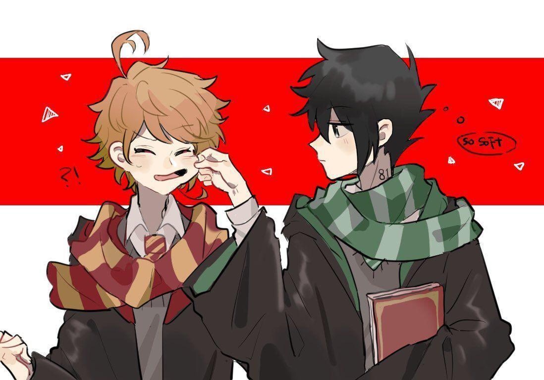 The Promised Neverland Yakusoku No Neverland Doujinshi Phần 8اجمل الصور انمي رومانسية 8ا Personajes De Anime Arte De Anime Anime De Harry Potter