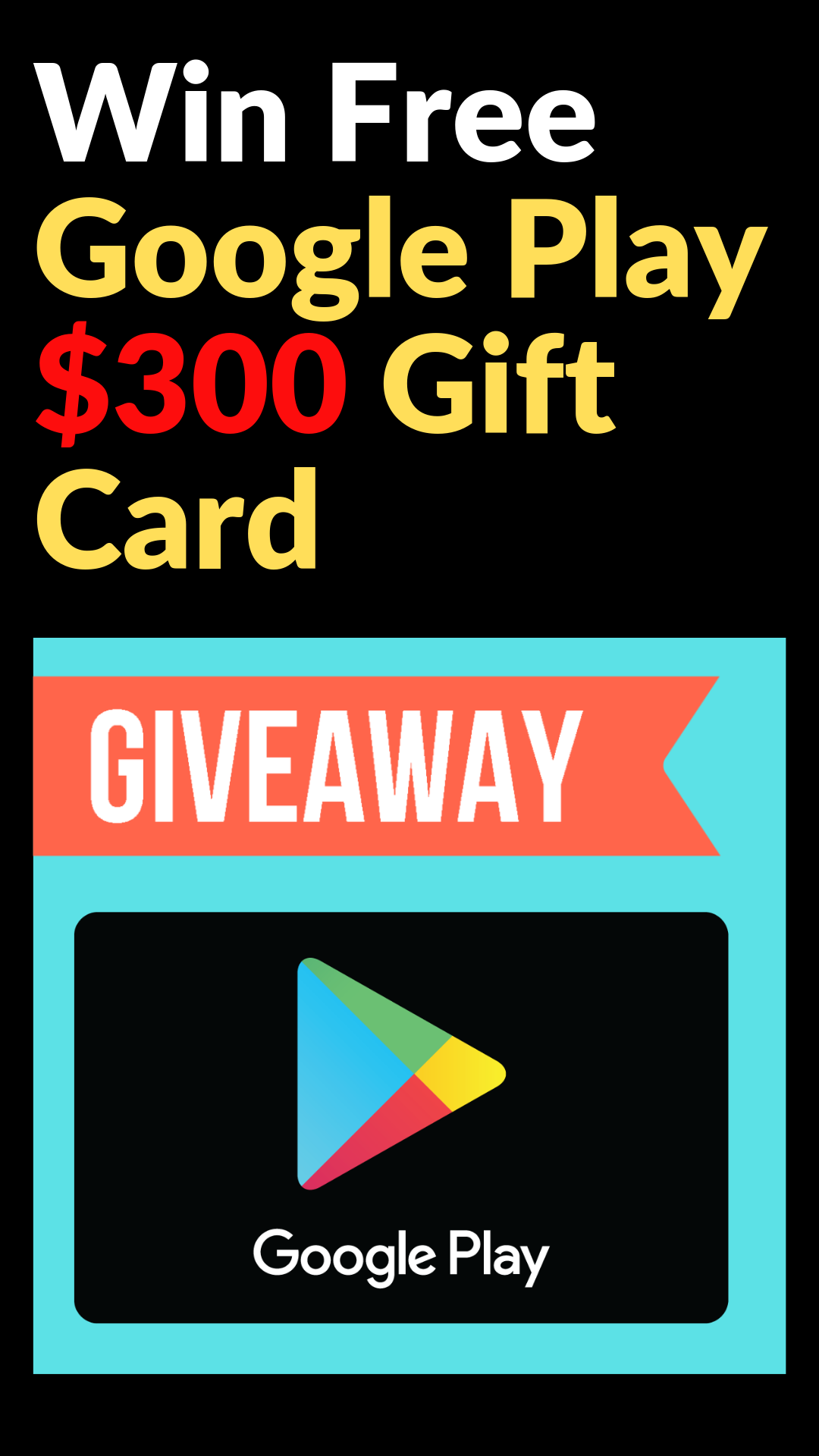 Free Google Play gift card Free Google Play gift card