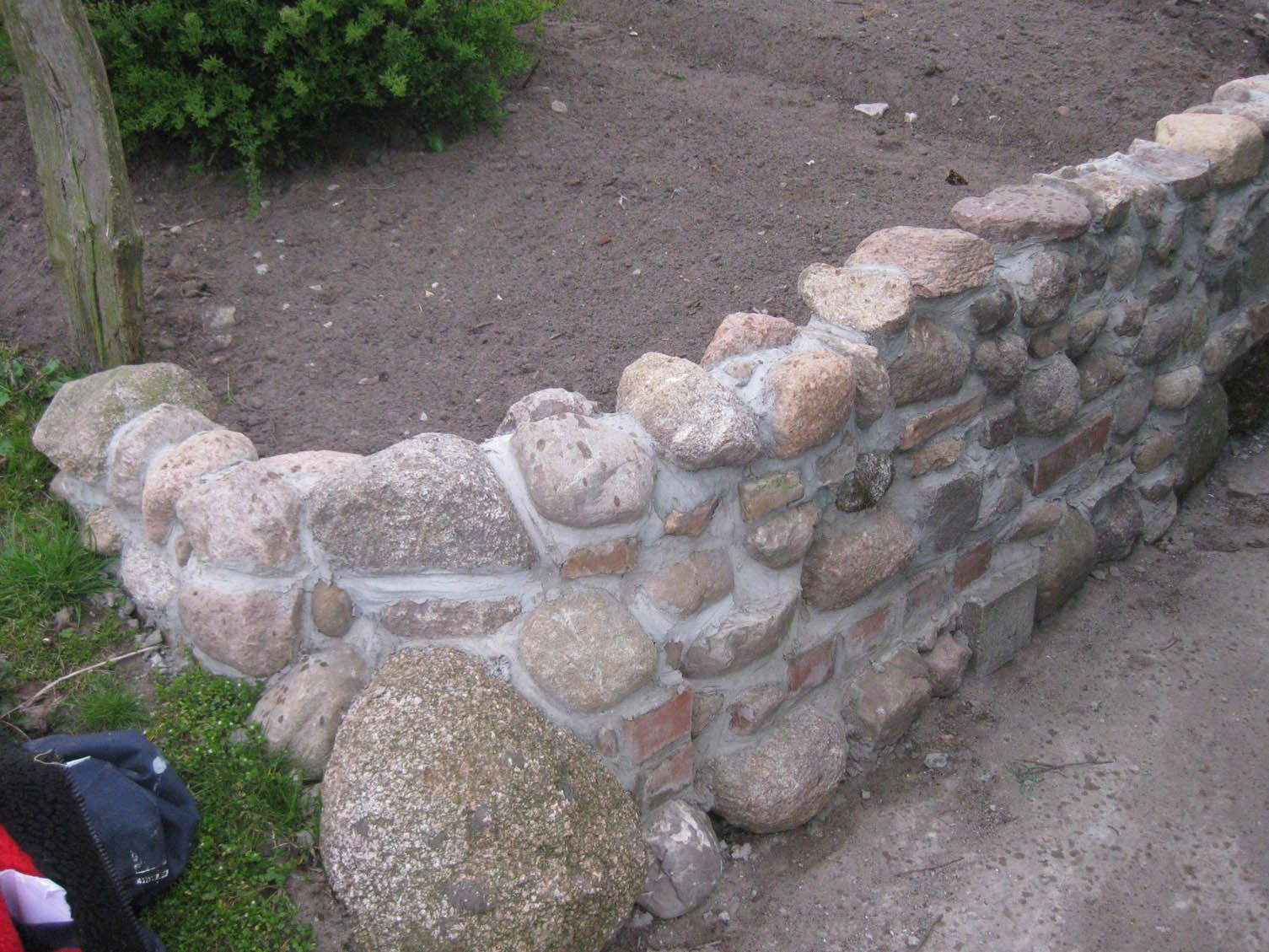 Photo of Wall made of field stones