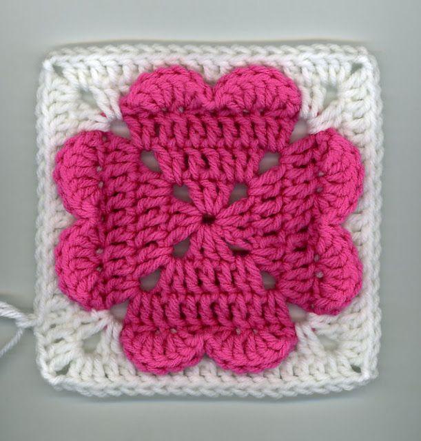 Hermosas muestra de cuadros de crochet. | crochet | Pinterest ...