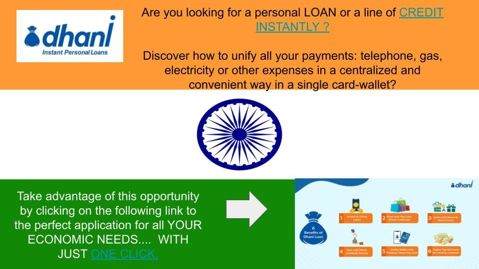 Personal Loan Or Instant Credit Only For India En 2020