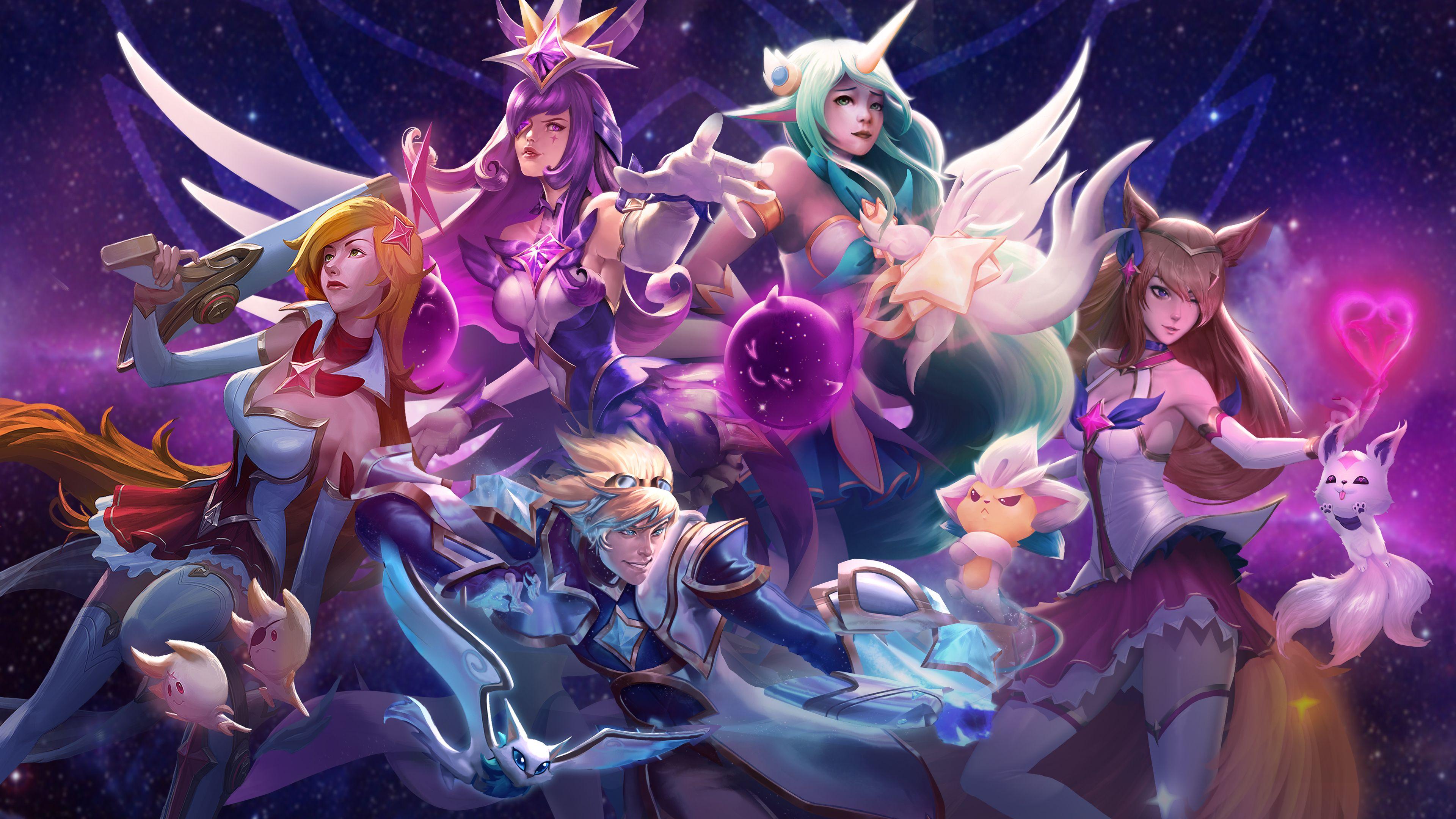 Star Guardians Unite | Community art, League of legends ...