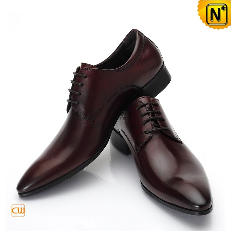 Mens Distressed Leather Oxford Dress Shoes Cw762011 Best Italian