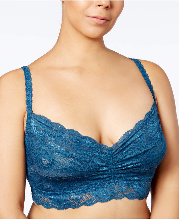 39720132b540b Cosabella Never Say Never Plus Size Lace Sweetie Bralette NEVER1301P ...