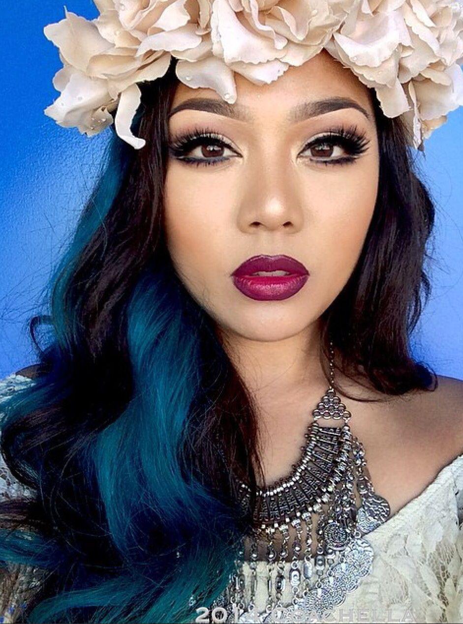 Makeup makeup yourface pinterest flower headbands flower