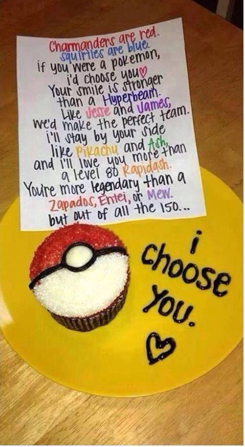 I choose you diy valentine gifts for him diy birthday for Gift for your boyfriend on his birthday
