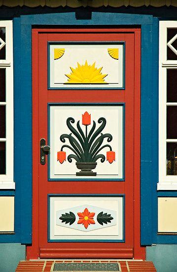 "Darss Door, as seen on HDnet program ""Baltic Coasts"".  Prerow, Darss, Mecklenburg Western Pomerania, Germany, Europe"